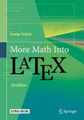 More Math Into LaTeX: Edition 5