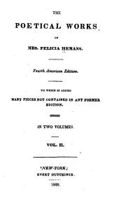 The Poetical Works of Mrs. Felicia Hemans: Volume 2