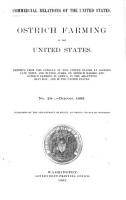 Ostrich Farming in the United States PDF