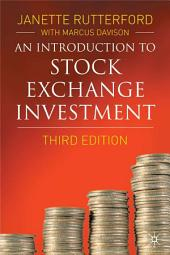 An Introduction to Stock Exchange Investment: Edition 3