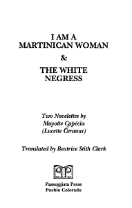 I Am a Martinican Woman Book