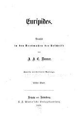 Euripides: Band 1