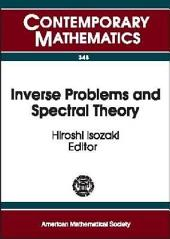 Inverse Problems and Spectral Theory: Proceedings of the Workshop on Spectral Theory of Differential Operators and Inverse Problems, October 28-November 1, 2002, Research Institute for Mathematical Sciences, Kyoto University, Kyoto, Japan