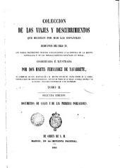 Colección de las viajes y descubrimentos que hicieron por mar los españoles desde fines del siglo XV..., 1