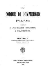 Il Codice di commercio italiano: Volume 1,Parte 1