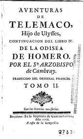 Aventuras de Telemaco, hijo de Ulysses: continuacion del libro IV dela Odisea de Homero