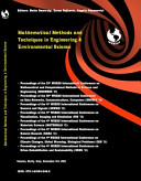 Mathematical Methods and Techniques in Engineering and Environmental Science