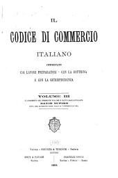 Il Codice di commercio italiano: Volume 3