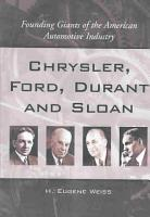 Chrysler  Ford  Durant and Sloan PDF