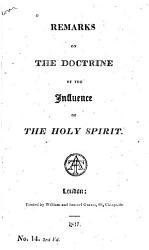 Remarks on the Doctrine of the Influence of the Holy Spirit PDF