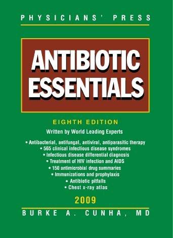 Antibiotic Essentials 2009 PDF