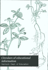 Circulars of Educational Information