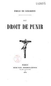 Questions de mon temps: 1836 à 1856
