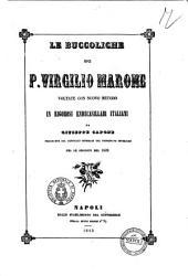 Le Buccoliche di P. Virgilio Marone