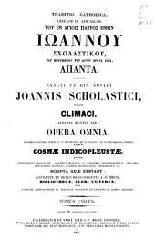 Patrologiae cursus completus ...: Series graeca, Volume 88