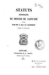 Statuts synodaux du diocèse de Saint-Dié
