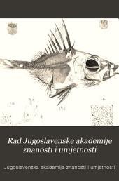 Rad Jugoslavenske akademije znanosti i umjetnosti: Volumes 106-108