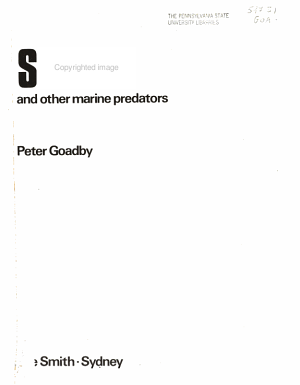 Sharks and Other Marine Predators PDF