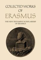 The New Testament Scholarship of Erasmus PDF