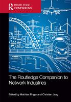 The Routledge Companion to Network Industries PDF