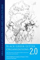 Black Greek Letter Organizations 2 0 PDF