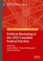 Political Marketing in the 2019 Canadian Federal Election PDF