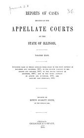 Reports of Cases Decided in the Appellate Courts of the State of Illinois: 1886-1887, Volume 24