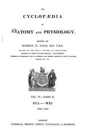 The Cyclopædia of Anatomy and Physiology: Volume 4, Issue 2