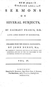 Sermons on several subjects: Volume 4