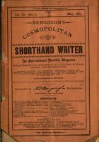 Bengough s Cosmopolitan Shorthand Writer PDF