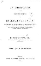 An Introduction to the second edition of Railways in India, etc
