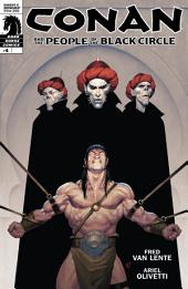 Conan and the People of the Black Circle #4