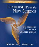 Leadership and the New Science PDF