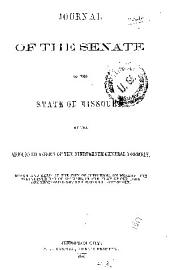 Journal of the Senate of the State of Missouri