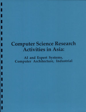 Computer Science Research Activities in Asia PDF