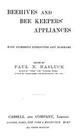 Beehives and bee keepers' appliances