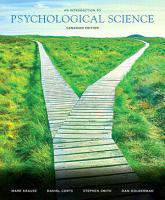 An Introduction to Psychological Science  First Canadian Edition  PDF