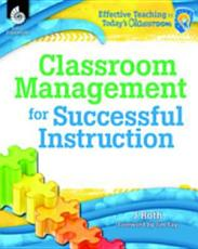 Classroom Management for Successful Instruction PDF