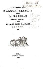 Prose di Feo Belcari: edite ed inedite sopra autografi e testi a penna. Raccolte e pubblicate da Ottavio Gigli, Volume 2
