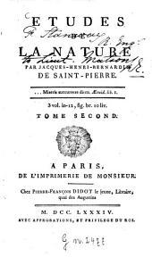 Études De La Nature: Volume2