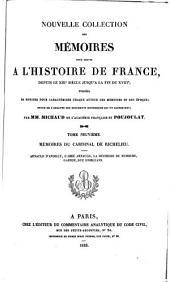 Mémoires de la duchesse de nemours: contenant ce qui s'est passé de plus particulier en France pendant la guerre de Paris jusqu'a la prison du Cardinal de Retz en 1652, avec les diférents caractères des personnes de la cour