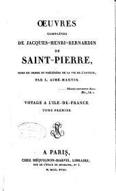Essai sur la vie et les ouvrages de Bernardin de Saint-Pierre [par L. Aimé-Martin