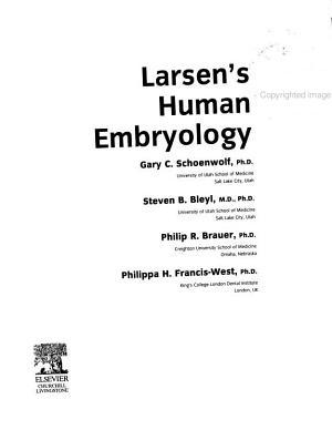 Larsen S Human Embryology