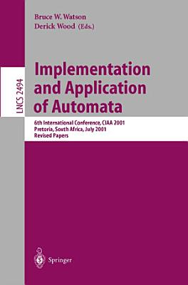 Implementation and Application of Automata PDF