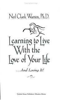 Learning to Live with the Love of Your Life    and Loving It