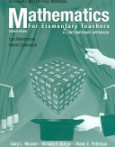 Student Activities Manual To Accompany Mathematics For Elementary Teachers A Contemporary Approach 7th Edition Book PDF