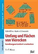Umfang und Fl  chen von Vierecken handlungsorientiert erarbeiten PDF