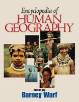 Encyclopedia of Human Geography PDF