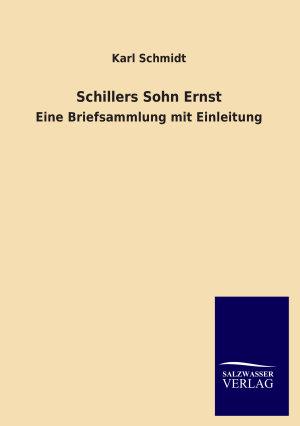 Schillers Sohn Ernst PDF