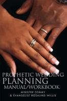 Prophetic Wedding Planning Manual Workbook PDF